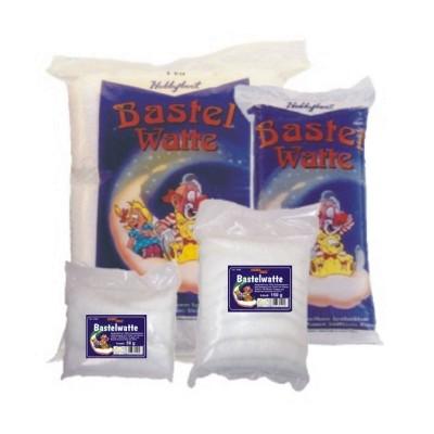 Bastelwatte, weiß, 50g (VE: 100 Stück)