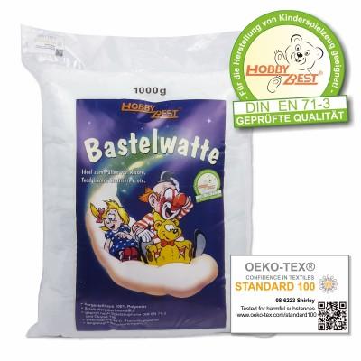 Bastelwatte weiß 1 kg