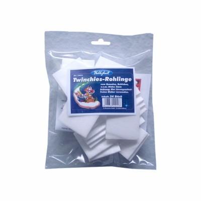 Twinchies-Rohlinge (doppelte Inchies), 6 mm dick, Beutel zu 24 Stk.