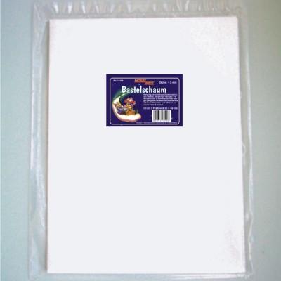 Bastelschaum, 3 mm dick, 30 x 40 cm