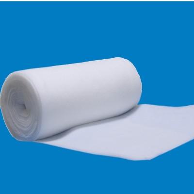 Polyestervlies, Rollenware -schwer entflammbar, 1,4 x 50 m, 100 g/m²