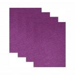 Hartfilz Bastelsets 30 x 42 cm: Set je 4 St. im Beutel lila