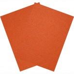 Hartfilz Bastelsets 30 x 42 cm: Set je 2 St. im Beutel orange