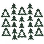 Streudeko Tannenbaum aus Filz 5 g (VE: 24 Beutel)