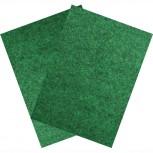 Hartfilz Bastelsets 30 x 42 cm: Set je 2 St. im Beutel tannengrün